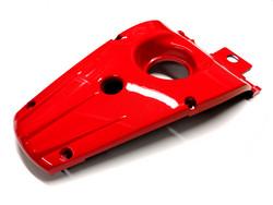 Ducktail, punainen, Yamaha Aerox <-12