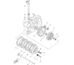 Kampiakselin ensiörattaan mutteri, Minarelli AM6