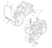 Lohkon pultti M12x1.25, Minarelli AM6