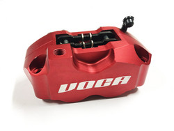 Voca Racing Jarrusatula punainen, neljä jarrumäntää