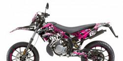 Stage6 tarrasarja pinkki, Derbi Senda X-Treme/X-Race 10-17