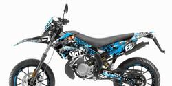 Stage6 tarrasarja sininen, Derbi Senda X-Treme/X-Race 10-17