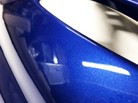 TNT takakate (oikea), metallinhohto sininen, Yamaha Aerox <-12