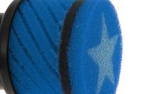 Stage6 vaahtomuovi ilmanputsari, sininen (48mm, PWK)