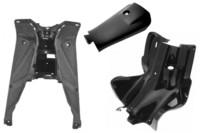 Sisäkatteet, musta, Yamaha Aerox <-12