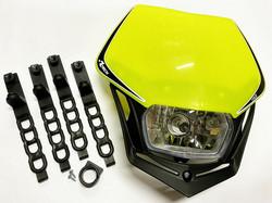 Rtech V-Face valomaski, neon keltainen