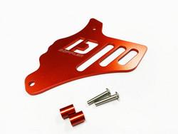 Doppler Eturattaan CNC alumiininen suoja, punainen, Minarelli AM6
