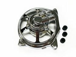 STR8 Vesipumpunkoppa+vesipumppu kromi, Yamaha Aerox