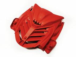 Etukatteen ritiläkate punainen, Yamaha Aerox 13->