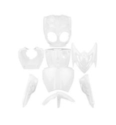 TNT katesarja, valkoinen, Yamaha Slider Naked 14->/MBK Stunt Naked 03->