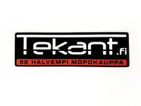 Tekant.fi tarrasarja 10kpl, punainen 10cm x 3cm