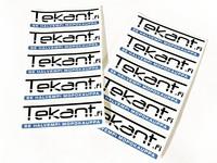 Tekant.fi tarrasarja 10kpl, valkoinen 10cm x 3cm