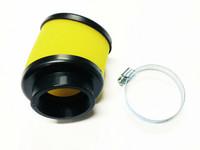 Top Performance vaahtomuovi ilmansuodatin 49mm, keltainen