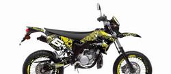 Stage6 tarrasarja keltainen, Yamaha DT