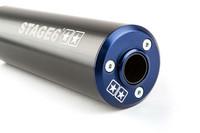 Stage6 Streetrace äänenvaimennin 50-80cc (vasen), sininen