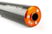 Stage6 Streetrace äänenvaimennin 50-80cc (vasen), oranssi