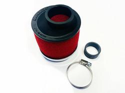 Malossi vaahtomuovi ilmanputsari 30-38mm, punainen