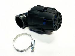 Polini Air Box ilmanputsari 90° 32mm, sininen