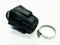 Polini Air Box ilmanputsari 30° 37mm, sininen