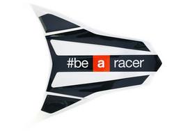 Takalipan #beAracer tarra (puna/musta), Aprilia RX/SX 06-17