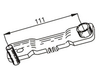 Variaattorin lukitustyökalu, Peugeot/SYM skootterit 4T
