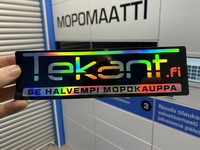 Tekant.fi hologrammitarra veloituksetta jokaiseen yli 30€ MOPOMAATTI tilaukseen