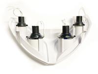 Halogen etuvalo, valkoinen, Peugeot Speedfight 2 POISTO