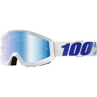 100% Strata Equinox ajolasit, sini/valkoinen POISTO