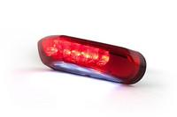 STR8 LED-takavalo+kilvenvalo, punainen