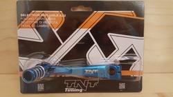 Vaihdepoljin Minarelli AM6, sininen
