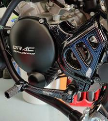 Eturattaan suoja Minarelli AM6, carbon