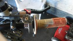 Stage6 CNC pikakaasukahva, metalliharmaa