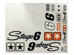 Stage6 tarrasarja 50cm x 39cm, musta