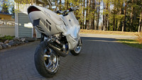 BCD Extreme Undertray valkoinen, Yamaha Aerox <-12
