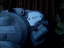 Öljypumpun peitelevy, Minarelli AM6, alumiini