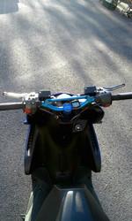 STR8 Tankoadapteri Yamaha Aerox, sininen