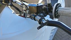 Jarrukahvat, valkoinen, Yamaha Aerox <-12