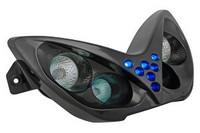 TNT etuvalo musta, Yamaha Aerox