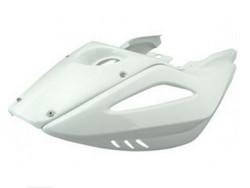 BCD takakatteet + ducktail, valkoinen, Yamaha Aerox