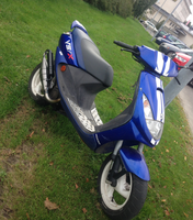Stage6 Pro Replica pakoputki, Yamaha skootterit (vaaka)