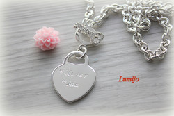 NECKLACE WITH HEART-PENDANT