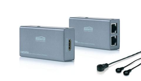 Marmitek MegaView 61 HDMI kuva, ääni ja ohjaus CAT5-kaapelissa
