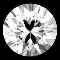 Kamputsean 5,8mm  jalokivi , kirkas Zircon kuin timantti
