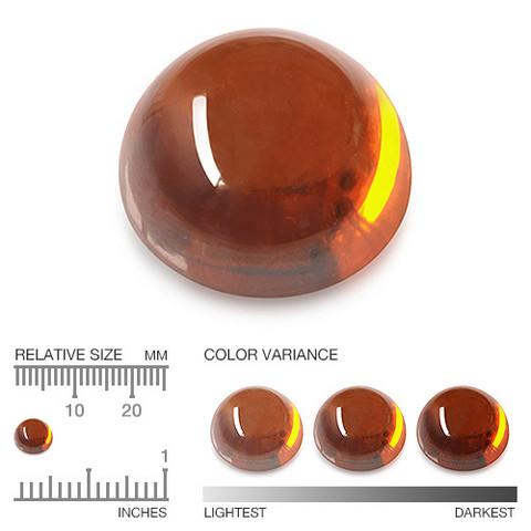 Hessoniitti granaatti 6,5mm