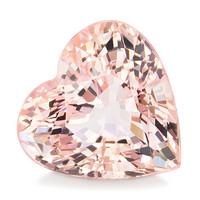 Pinkki Morganiitti briljantti jalokivi, hiottu 8,3mm, kuvallisella aitoustodistuksella