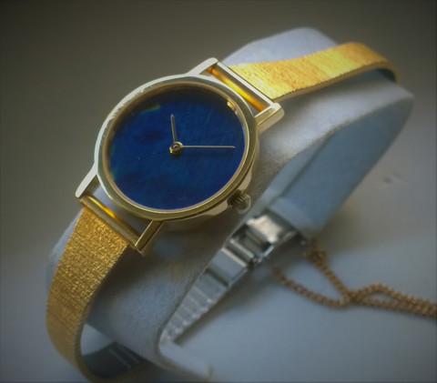 Zenith Finlandia spektroliitti, 14ct kultainen jalokivikello kello