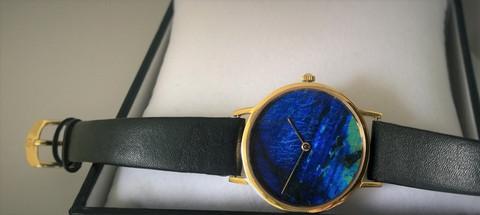 Zenith Finlandia spektroliitti, jalokivi kello isompi koko