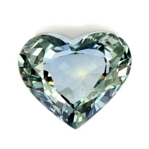 safiiri sydän , erikoinen sävy  kuvallisella aitoustodistuksella