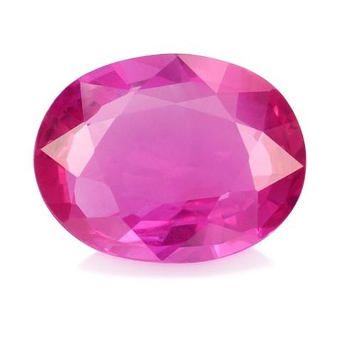 Pinkki Safiiri 7,2mm , kuvallisella aitoustodistuksella