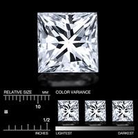 Safiiri ( timanttimainen )  neliö 1,8mm